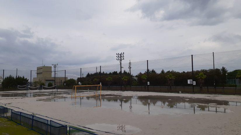 大会延期<br>JFA第16回全日本ビーチサッカー大会